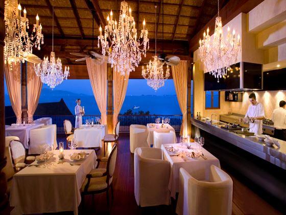 Le Salon de Ti restaurant at Zazen Boutique Resort