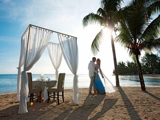 Heritage Le Telfair wedding setting