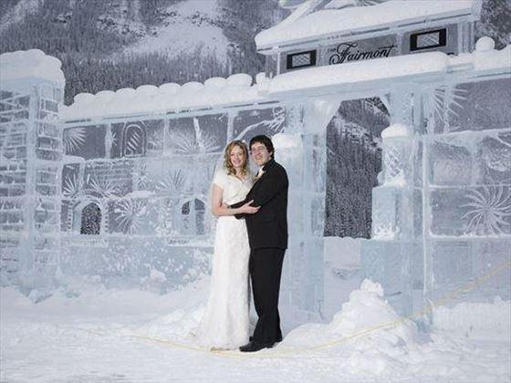 Lake Louise Ice Castle