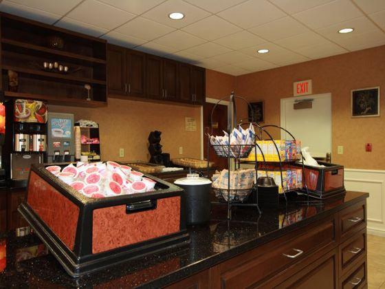Hotel Lobby Snack Bar