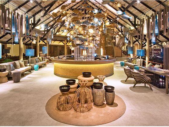 Lobby at Cape Panwa
