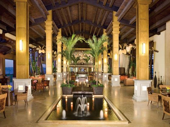 Lobby at Dreams Riviera Cancun