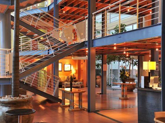 Lobby at Protea Hotel Knysna Quay