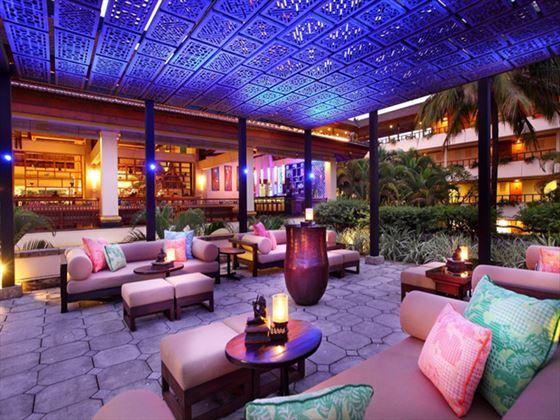 Lobby terrace at Nusa Dua Beach Hotel