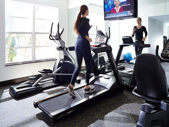 Lord Balfour South Beach fitness room