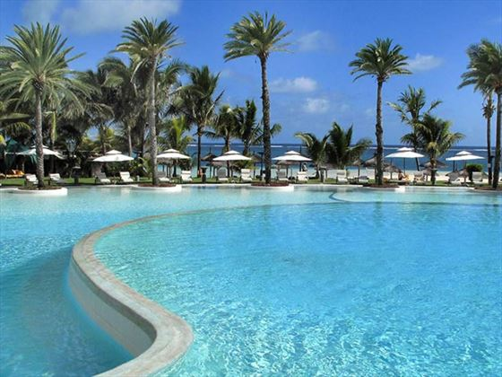 Pool at LUX* Belle-Mare