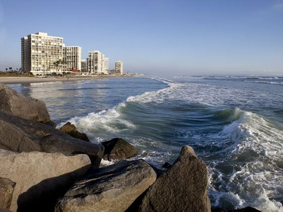 Luxury condos by the beach at Coronado