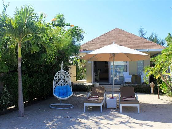 Beach Front Villa at MAHAMAYA Boutique Resort, Gili Meno