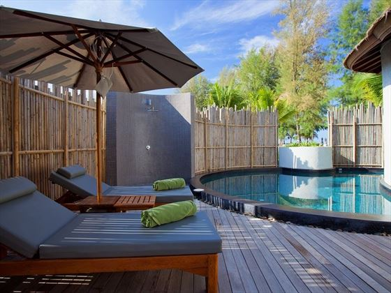 Mai Khao Lak Beach Resort & Spa Pool Villa Sea View private pool