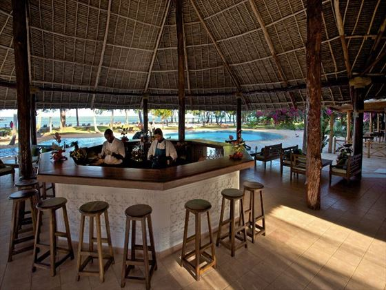 Main bar at Bluebay Resort & Spa