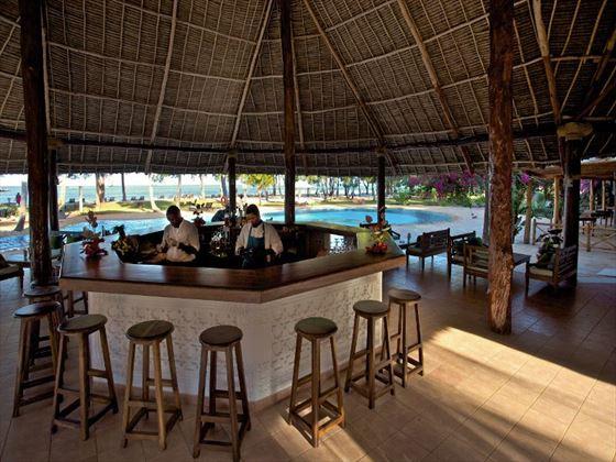 Main bar at Bluebay Resort & Spa