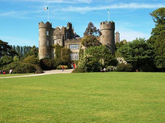 Maladhide Castle near Dublin