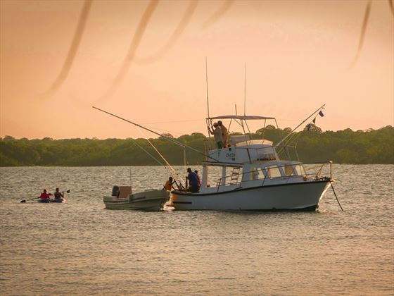 Fishing trips at Manda Bay