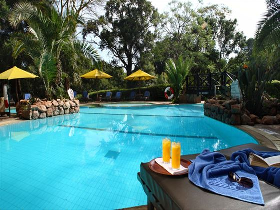 Mara Sarova swimming pool
