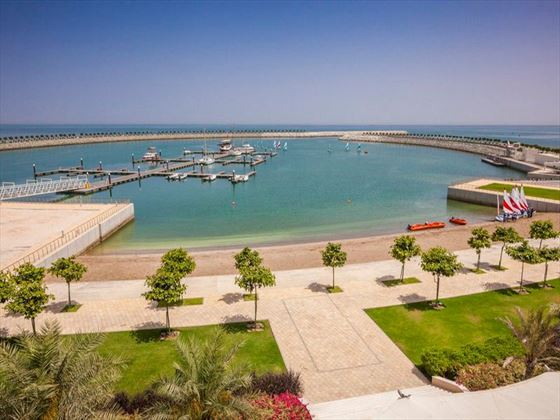 Marina and beach at Millennium Resort