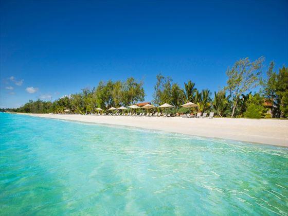 Maritim Crystals Beach Hotel beach view