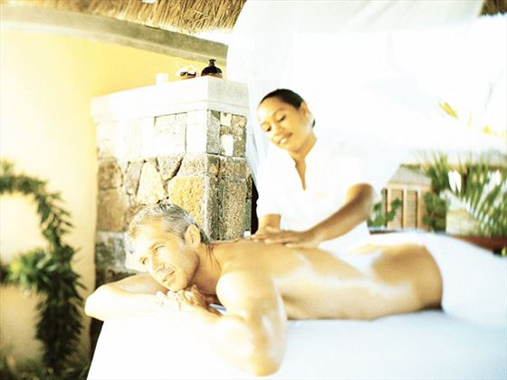 Massage treatments at LUX* Le Morne Spa