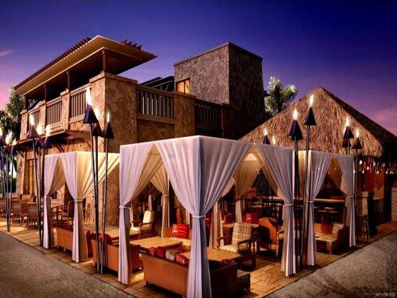 Maui beach restaurant at Sofitel The Palm Apartments