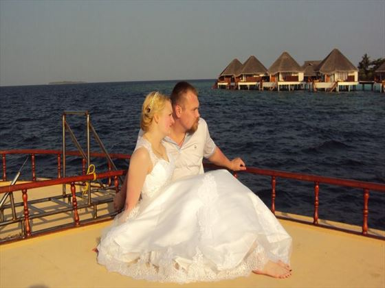 Renew your vows at Adaaran Select Meedhupparu