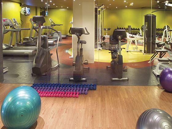 Melia Bali fitness room