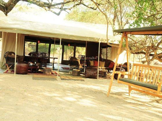 Mess tent at Amboseli Porini