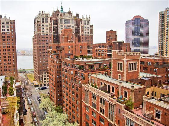 Midtown brownstone apartments