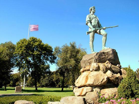 Lexinton Minuteman, Massachusetts