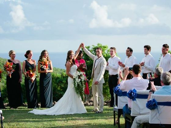 Wedding with family & friends at Montpelier Plantation Resort