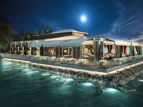 Moon Palace Jamaica Grande at night (Artist impression)