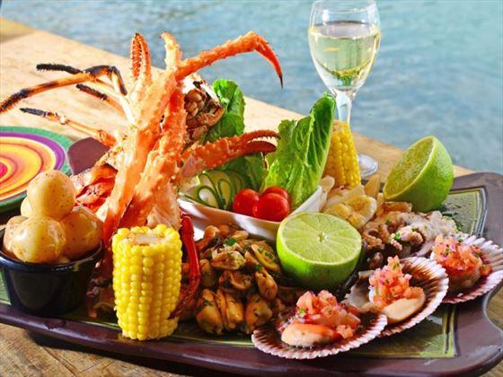 Morgan's Pier cuisine