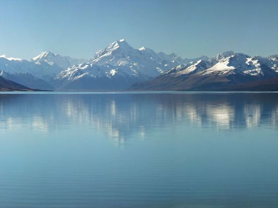Mt Cook and Lake Pukaki panorama