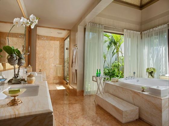 One Bedroom Villa bathroom