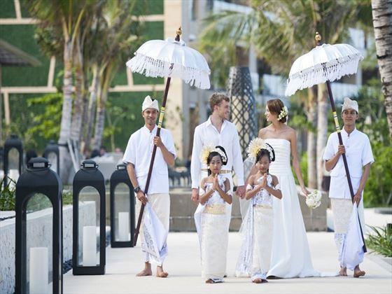 Weddings at Mulia Resort