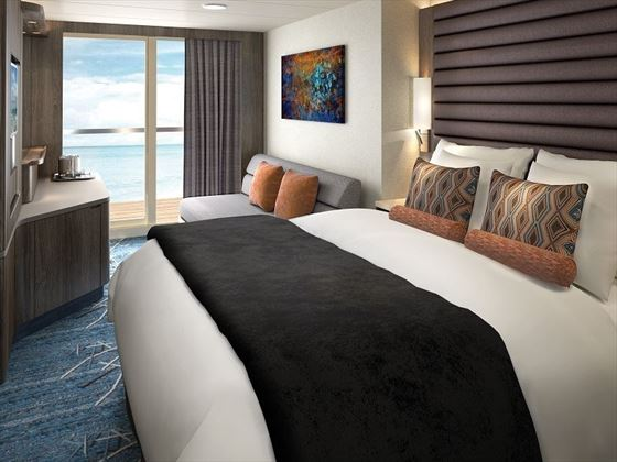 NCL Bliss Spa Balcony Stateroom