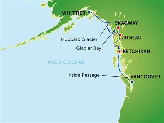 Cruise Itinerary Map