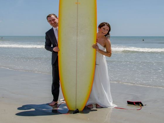 Fun beach weddings, Cocoa Beach