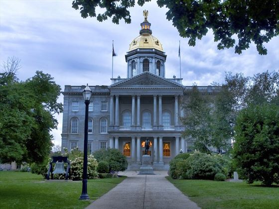 New Hampshire Capitol Building