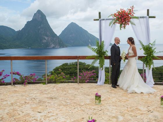 The Caribbean's best wedding backdrop