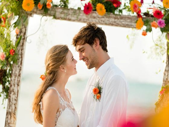 A gorgeous Mauritian wedding