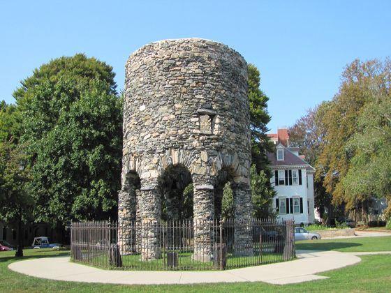 Newport Tower, Touro Park, Newport, Rhode Island