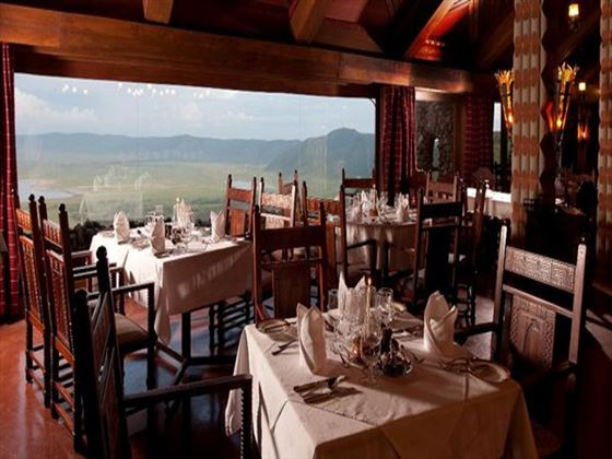 Ngorongoro Serena Safari Lodge restaurant