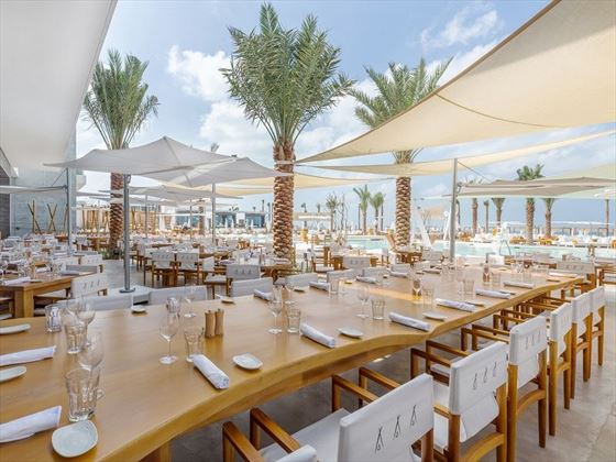 Nikki Beach Resort & Spa Beach Club dining