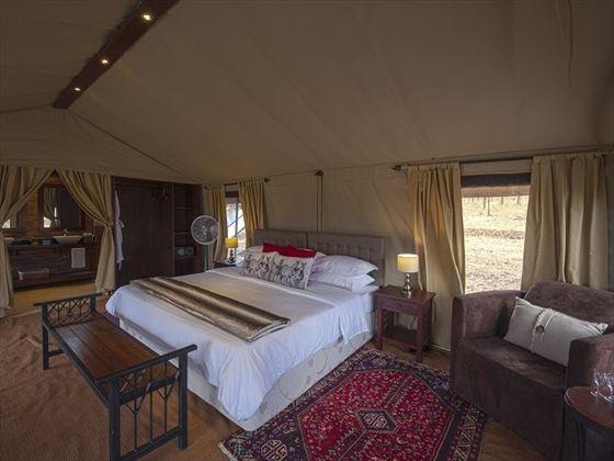 Nimali Central Serengeti, guest tent interior