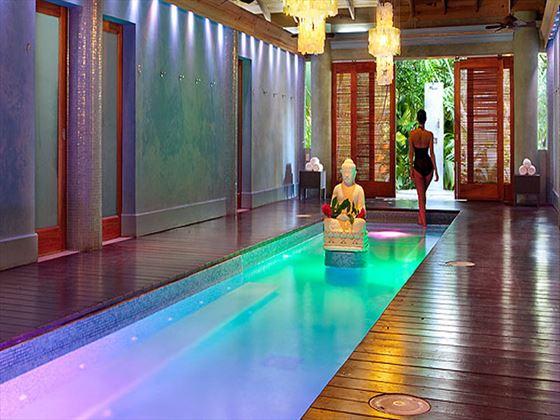 Oasis spa at Couples Swept Away