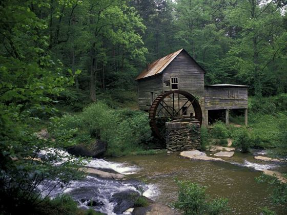 Old water mill in Georgia