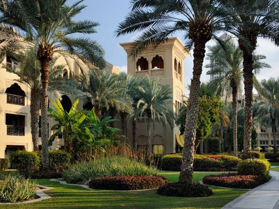 One&Only Royal Mirage Arabian Court gardens