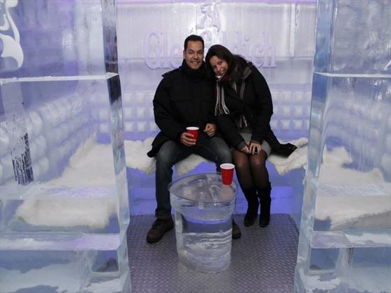 Couple in the Ice Booth