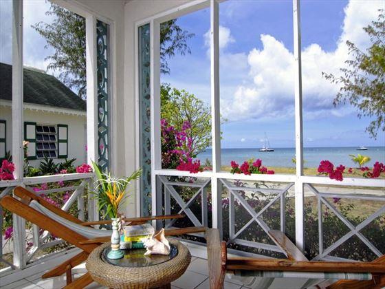 Gorgeous views at Oualie Beach Resort