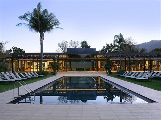 Outdoor pool at Vineyard Hotel