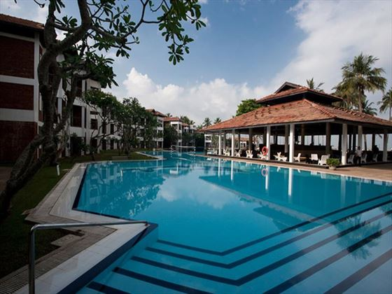 Outdoor swimming pool at Club Hotel Dolphin